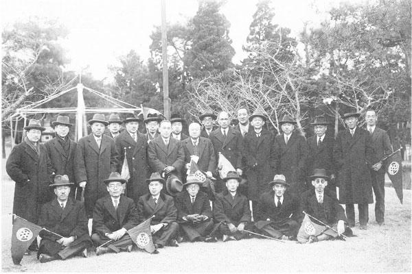 設立総会当時の会員